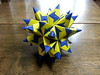 Spiky drilled snub cube (hyunrang) Tags: spiky origami cube hur snub bascetta
