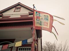 Lexington Shambhala Center (robert.j.bruner) Tags: lexington kentucky ky buddha windy buddhism tibet tibetan prayerflags shambhala auspicious