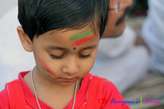 IMG_0017 (anupamadhikary) Tags: colorful holi utsav basanta dol 2015 santiniketan