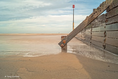 Withernsea (Tony Clement 68) Tags: sky water coast sand long exposure sony yorkshire tripod east coastal slt tiffen a58 10stop