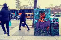 Quand y en a marre, y a Dora Maar (Pixelicus) Tags: streetart paris fuji 13 rue 13me xiii x100 xiiime