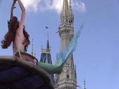 Part Of Your World (sharedisney) Tags: castle ariel magic kingdom sunny disney parade disneyworld mermaid mk magickingdom thelittlemermaid cinderellacastle fof partofyourworld festivaloffantasy