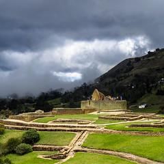 Ingapirca's main temple