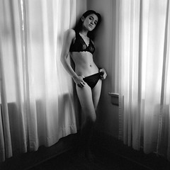 Alexis_037 (patofoto) Tags: blackandwhite bw woman 6x6 film nude square squareformat diafine artisticnude femenine hasselblad203fe