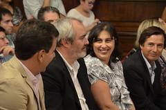 Acto entrega de diploma labor legislativa 2014