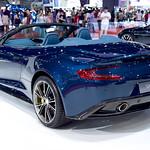 Blue Aston Martin Vanquish Convertible at the 36th Bangkok International Motor Show thumbnail