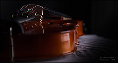 Violin On Table..Colour.. (kirby126) Tags: light shadow music colour studio shed sheet vio the canonef24105mmf4lisusm canon6d pjlimages violinadjusted
