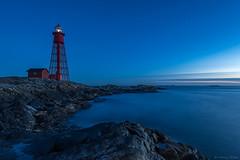 DSC_0183_1280 (Vrakpundare) Tags: longexposure lighthouse twilight sweden sverige bluehour fyr bohusln paternoster vstkusten kattegatt heidenstam bltimmen hamneskr