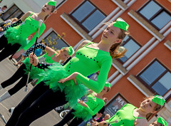 Petice - Liberation Day (Jan Forman) Tags: majorettes