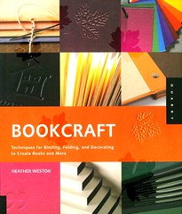 Bookcraft:  Techniques for Binding, Folding, and Decorating to Create Books and More (Vernon Barford School Library) Tags: new school art paper handicraft reading book high heather library libraries crafts arts reads craft books read paperback teacher professional cover decorating junior covers bookcover teaching middle vernon handicrafts bookbinding recent binding folding bookcovers weston nonfiction paperbacks techniques barford softcover professionalcollection vernonbarford professionalresources softcovers heatherweston bookcraft professionalresource creatingbooks 9781592534555