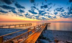 Sunrise (AdMixStar) Tags: longexposure reflection beach colors clouds sunrise landscape denmark north bluehour scandinavia fyn nyborg outdoore ermedin islamcevic