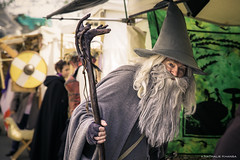IMG_7069 - Les anthinoises 2016 (Where the gloom becomes sound) Tags: portrait color hat canon beard fun costume funny wand magic fair lord medieval rings nathalie merlin fancy gandalf cape fte tamron magical renaissance 6d sorcerer 2016 sorcier mdival khansa anthinoises