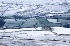 Last snow in Wensleydale, Yorkshire Dales. UK (Wend's photography) Tags: park uk winter england snow rural landscape photography dawn scenery unitedkingdom yorkshire national northyorkshire dales snowscape yorkshiredales winterscape