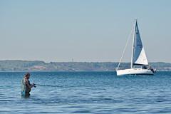 Angler (malp007) Tags: water meer wasser ship balticsea segelboot angler