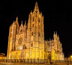 DSC2997 Catedral de Santa Mara de Regla, siglo XIII, en Len (ramonmunoz_arte) Tags: de catedral len vidrieras claustro sepulcro