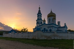 St. Nicolas Church, Moskovskoe village, Stavropol area (eugene_zem) Tags: church st temple evening spring village russia ngc nicolas hdr springtime stavropol sunse  chrisitian warmevening   natgeoru russiafotolovers