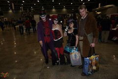 Planet Comicon Kansas City 2016 Cosplay (V Threepio) Tags: girl costume outfit midwest geek cosplay posing dressup kansascity cosplayer comiccon villains harleyquinn comicconvention 2016 thejoker planetcomicon sonya6000