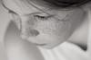 Glói (Dalla*) Tags: boy portrait bw white black kid child lashes freckles lightness wwwdallais