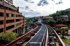 MiniMetr Perugia (R.o.b.e.r.t.o.) Tags: italy public car underground subway italia metro transport railway cable pg transit perugia rapid metropolitana umbria binari metr skymetro