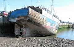 Old Fishing boat (Darren..) Tags: marina canon boat is fishing powershot fleetwood sx200