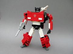 Sideswipe (MortalSwordsman) Tags: g1 transformers legoformer generation1 legotransformer lego sideswipe lambor legosideswipe legolambor lamborghini