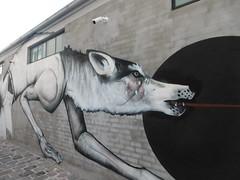 P1000639 (Mud Boy) Tags: melbourne australia victoria melbournevictoriascoastalcapitalisacityofstately19thcenturybuildingsandtreelinedboulevards streetart graffiti collingwood wolf