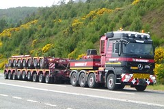 Mammoet (A9 AWM) Tags: mercedes titan helmsdale heavyhaulage mammoet