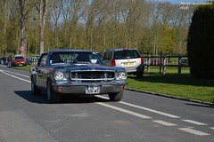 Ford Mustang (Monde-Auto) Tags: auto france ford tour course mustang coup courances comptition grise automoto