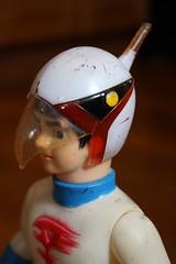 Vintage Gatchaman Ken Vinyl (Donald Deveau) Tags: anime vinyl gatchaman japanesetoy vintagetoy
