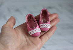 For Minifee m-line (by Hand Dreams) Tags: shoes hand sewing made bjd