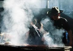 Gaucho preparing Asado (sakhitasharma) Tags: travel people latinamerica southamerica argentina profile asado pampas gaucho travelphotography laspampas sakhitasharma