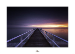 Build Your Own Dreams ..... Or Somebody Will Pay You To Build Theirs (Maxwell Campbell) Tags: longexposure seascape sunrise landscape pier jetty australia qld queensland herveybay