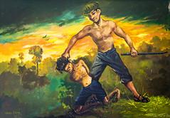 PPB_7168 (PeSoPhoto) Tags: rouge nikon asia cambodia khmer killing flag pot xp fields ek dictator phnom massgraves penh pol dictatorship khmerrouge polpot 2016 massgrave atrocity choengek choeng d7100