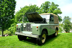 Coventry Motofest 2016 - Land Rover Series 2 (Si 558) Tags: rover land landrover landroverseries2