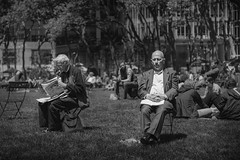 where are we now (stocks photography.) Tags: bw newyork photography photographer manhattan streetphotography bryantpark michaelmarsh