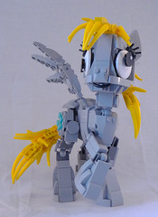 Derpy Hooves (lingonkart) Tags: horse lego pegasus cartoon pony mylittlepony moc derpy friendshipismagic derpyhooves