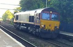 66070 Reading West  0O15 Didcot - Eastleigh (dan warman1) Tags: ews class66 66070