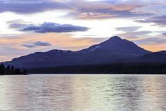 Sunset in Hedmark, Norway. (Patrik Fagerstrm) Tags: sunset mountain lake norway norge hedmark lakescape langsjoen johnsgrd