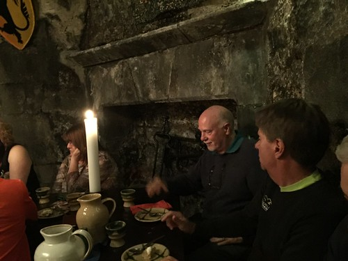 Banquet in Dunguaire Castle. Galway, Ireland