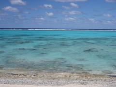 50 shades of blue (Magryciak) Tags: ocean trip travel blue sky cloud colour beach water outdoors island pacific lagoon clear tropic cookislands rarotonga islandlife 2015