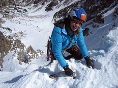 01 Araceli Segarra Foto Alfons Gaston (aracelisegarra) Tags: aracelisegarraalpinismo escaladaenhielo alpinism iceclimbing pirineos cadi