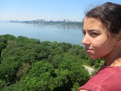 Eden Over Riverside Park (edenpictures) Tags: newyorkcity manhattan daughter hudsonriver eden fathersday georgewashingtonbridge washingtonheights