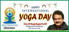 International Yoga Day 2016!! PM Narendra Modi (spsinghbaghel) Tags: up for election sp join leaders vote singh pradesh bjp uttar 2017 baghel