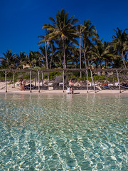 Beach chill. (CWhatPhotos) Tags: hotel tryp dream water warm sunny day beach blue waters sand cuba cuban delight hot cwhatphotos cayo coco holiday time island olympus four hirds june 2016 photographs photograph pics pictures pic image images foto fotos photography artistic that have which contain digital sky skies clear sun hols