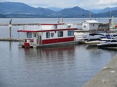 Boats and houseboats (trilliumgirl) Tags: lake canada bc arm salmon houseboat columbia british shack