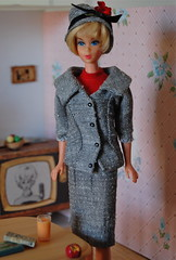 Career Girls (Emily1957) Tags: vintage vintagebarbiecareergirl fashion mattel tv barbie hairfairbarbie light naturallight nikond40 nikon kitlens toy toys doll dolls