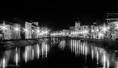 loreo night (paolotrapella) Tags: night canon long exposure italia monumenti notturna lunga esposizione paesi loreo