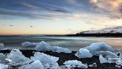 I can't decide between a Tequila Sunrise or a Gin Tonic sunset (lunaryuna) Tags: longexposure sunset sky mountain seascape beach weather clouds season landscape coast iceland spring le lunaryuna northatlantic seasonalchange southeasticeland jokulsarlonglacierlagoon blackvolcanicbeach