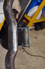 FabXmember01 (john.and.kath) Tags: chevrolet conversion welding engine swap impala ls transmission 1965 fabrication 60l jrd ls2 crossmember l76 4l65e