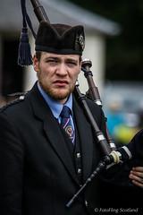 Piper - Helensburgh  Clan Colquhoun Pipeband (FotoFling Scotland) Tags: beard scotland argyll event piper lochlomond highlandgames luss lusshighlandgames lussgathering